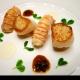扇贝和新西兰小龙虾