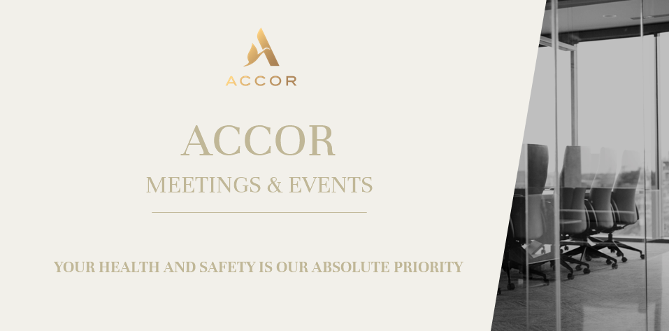 Accor's ALLSAFE Cleanliness & Prevention programme - Your Health and Safety is absolute Priority