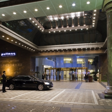 酒店大门,打浦路