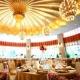 仕格厅,1楼,圆形,层高6.45,容纳260人晚宴